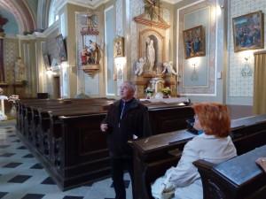 Komentovaná prohlídka rohelského kostela