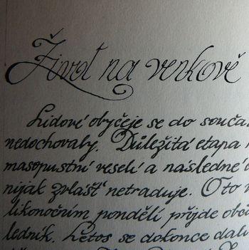 Kronika místní části Hůrky (obec Lišov)